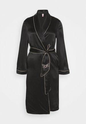 CLASSIC DRESSING GOWN - Badekåber - black