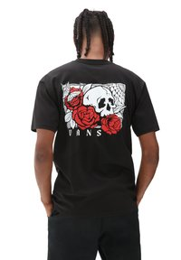 Vans - MN ROSE BED SS - Print T-shirt - black - 1
