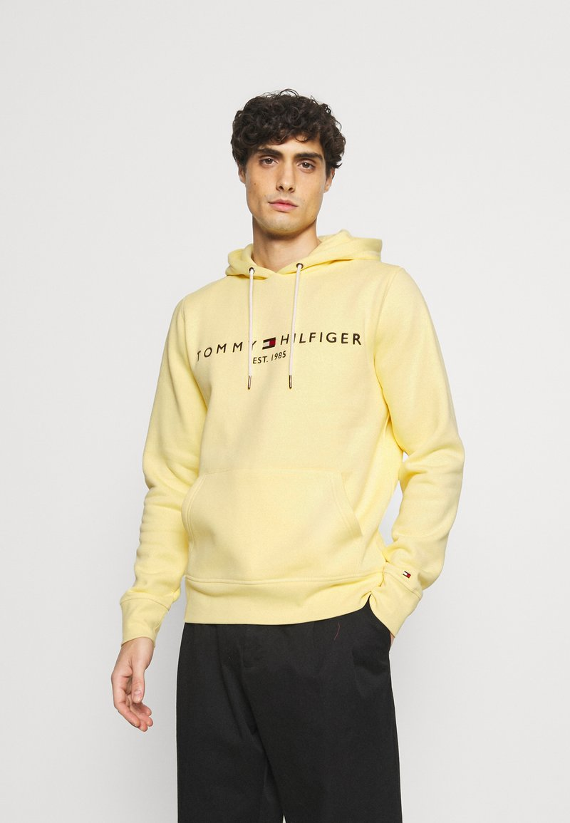 Tommy Hilfiger - LOGO HOODY - Sweat à capuche - yellow
