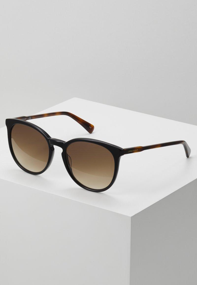 Longchamp - Okulary przeciwsłoneczne - black/havana