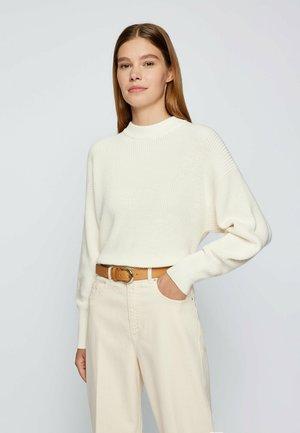 CAROL - Belt business - light brown