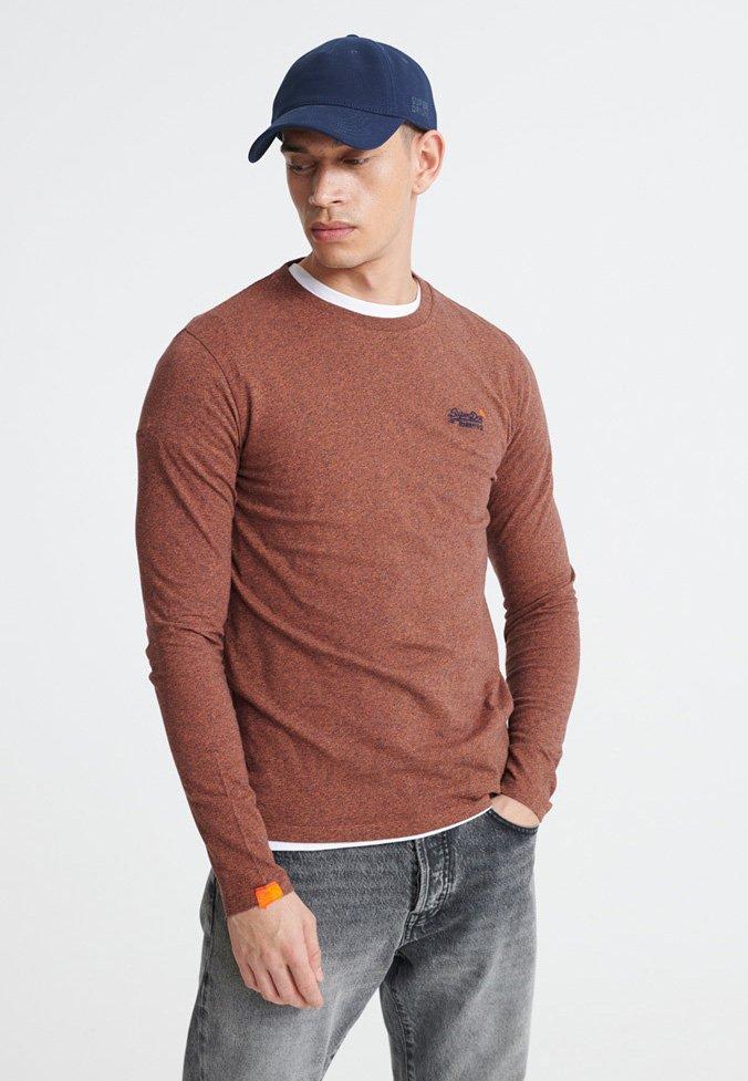 Men OL VINTAGE EMB  - Long sleeved top