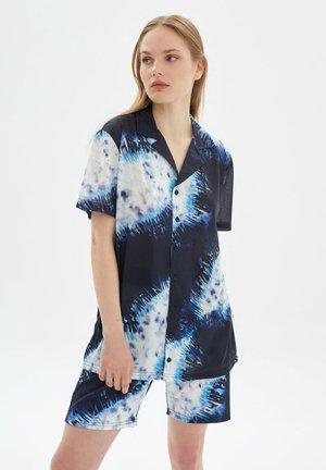 Overhemdblouse - navy blue