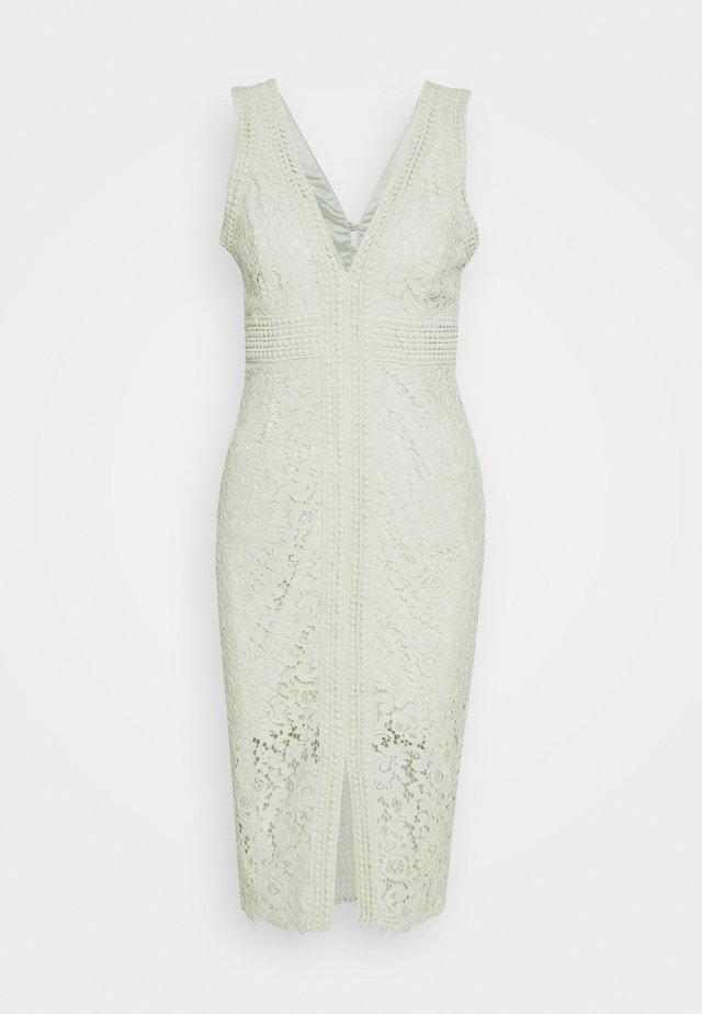 HALTER DRESS - Cocktail dress / Party dress - pistachio