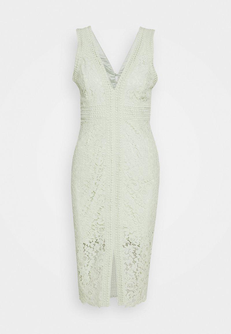 Bardot - HALTER DRESS - Cocktailklänning - pistachio