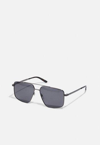 UNISEX - Occhiali da sole - ruthenium-coloured/ruthenium-coloured/grey