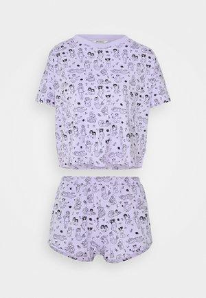TOVA SET - Pyjamas - zodiac purple