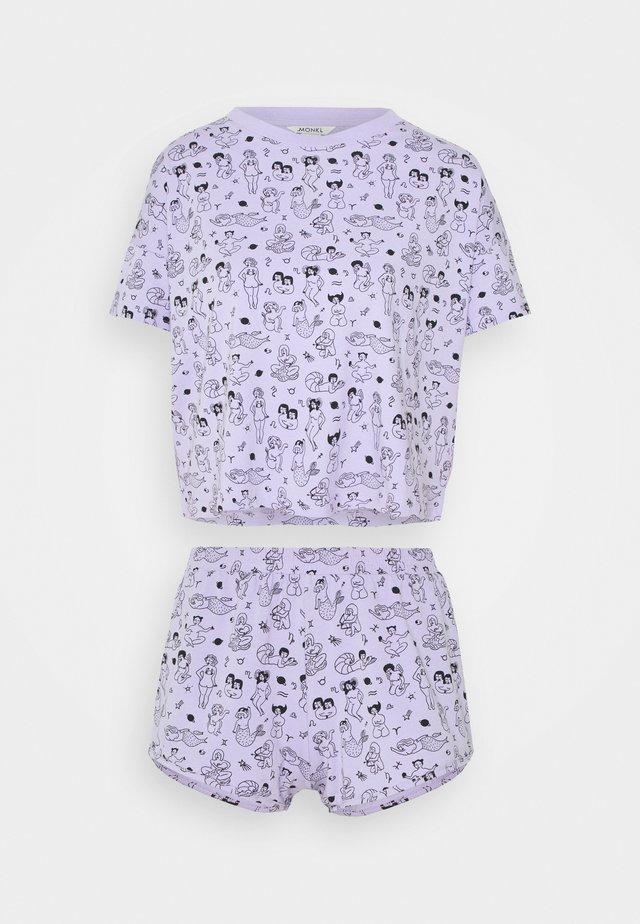 TOVA SET - Pigiama - zodiac purple
