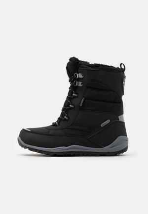 ALIDO TEX  - Winter boots - black/grey
