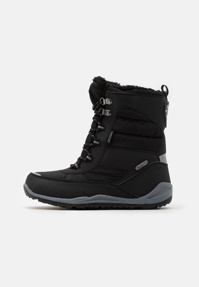 ALIDO TEX  - Snowboot/Winterstiefel - black/grey