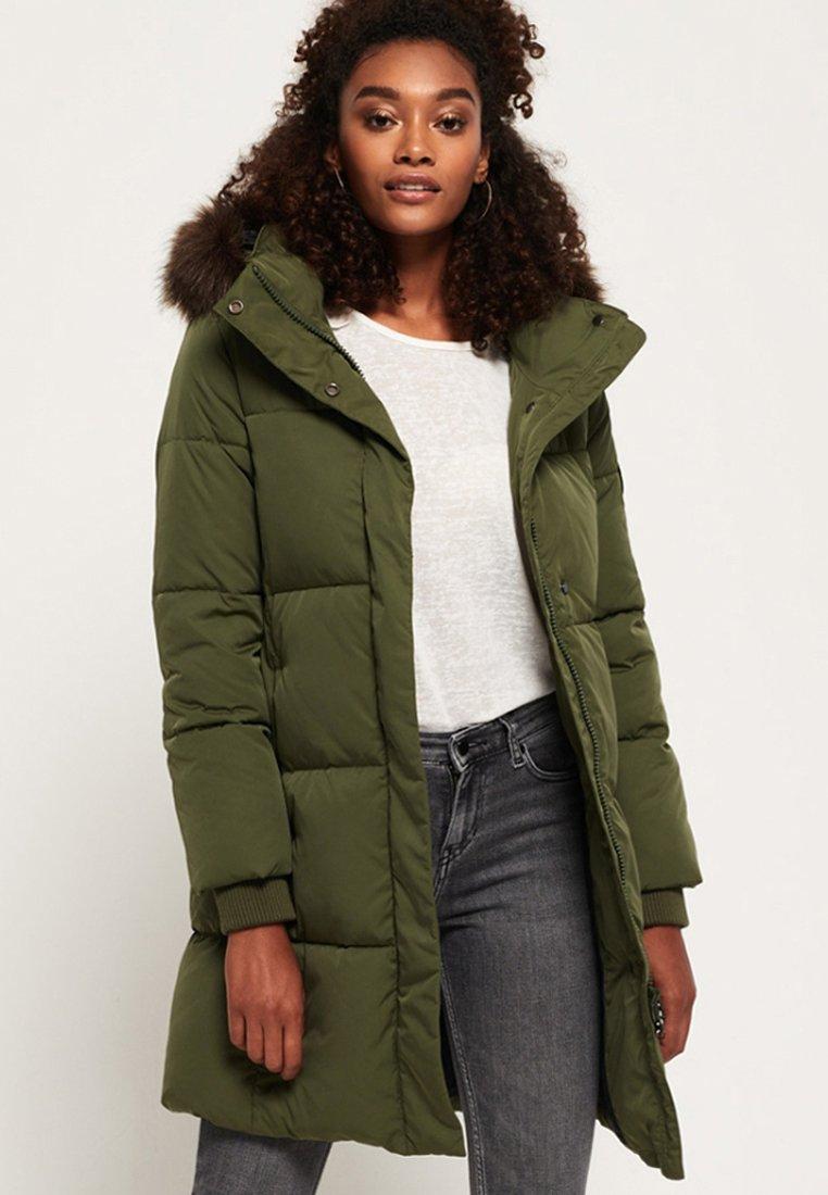Superdry - COCOON - Winter coat - khaki