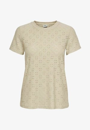 JDYCATHINKA - Print T-shirt - beige