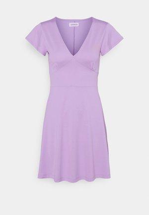 Vestito di maglina - lilac