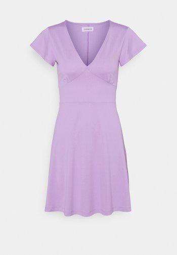 Robe en jersey - lilac