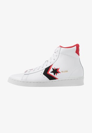 PRO - High-top trainers - white/black/university red