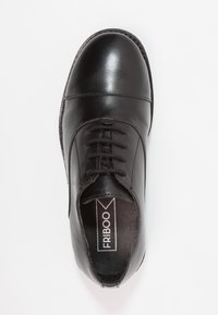 Friboo - LEATHER - Lace-ups - black - 1