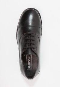 Friboo - LEATHER - Šněrovací boty - black - 1