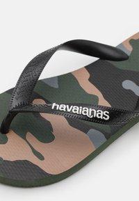 Havaianas - UNISEX - Flip Flops - green olive - 2