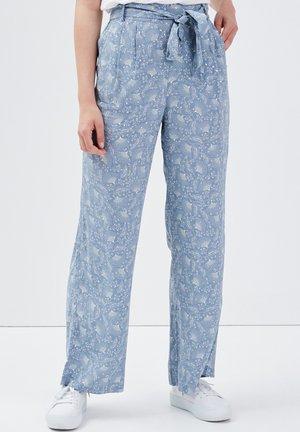 Pantalones - bleu gris