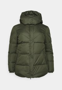 PUFFER JACKET - Zimní bunda - dark rosin green