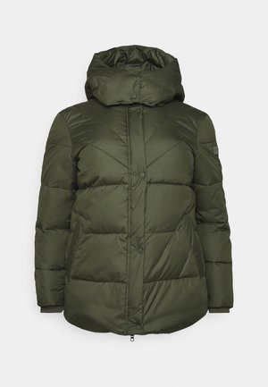 PUFFER JACKET - Giacca invernale - dark rosin green