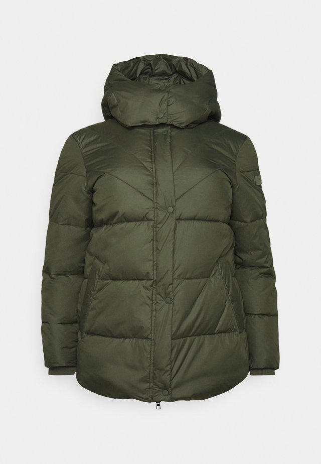 PUFFER JACKET - Kurtka zimowa - dark rosin green