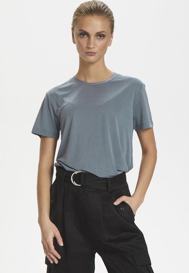 SLCOLUMBINE  - Basic T-shirt - flint stone
