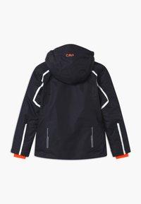 CMP - GIRL SNAPS HOOD - Lyžařská bunda - dark blue/coral - 1