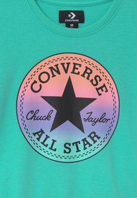 Converse - RELAXED CHUCK PATCH CREW - Sweatshirts - aurora green - 2