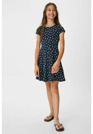 2 PACK - Day dress - dark blue / white
