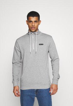 HALF ZIP  - Sweatshirts - grey melange