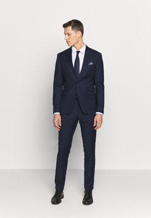 DOT STRUCTURE SUIT - Completo - navy