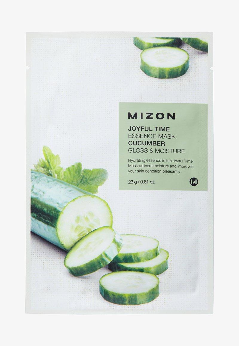 Mizon - JOYFUL TIME ESSENCE CUCUMBER 4 MASKS PACK - Skincare set - -
