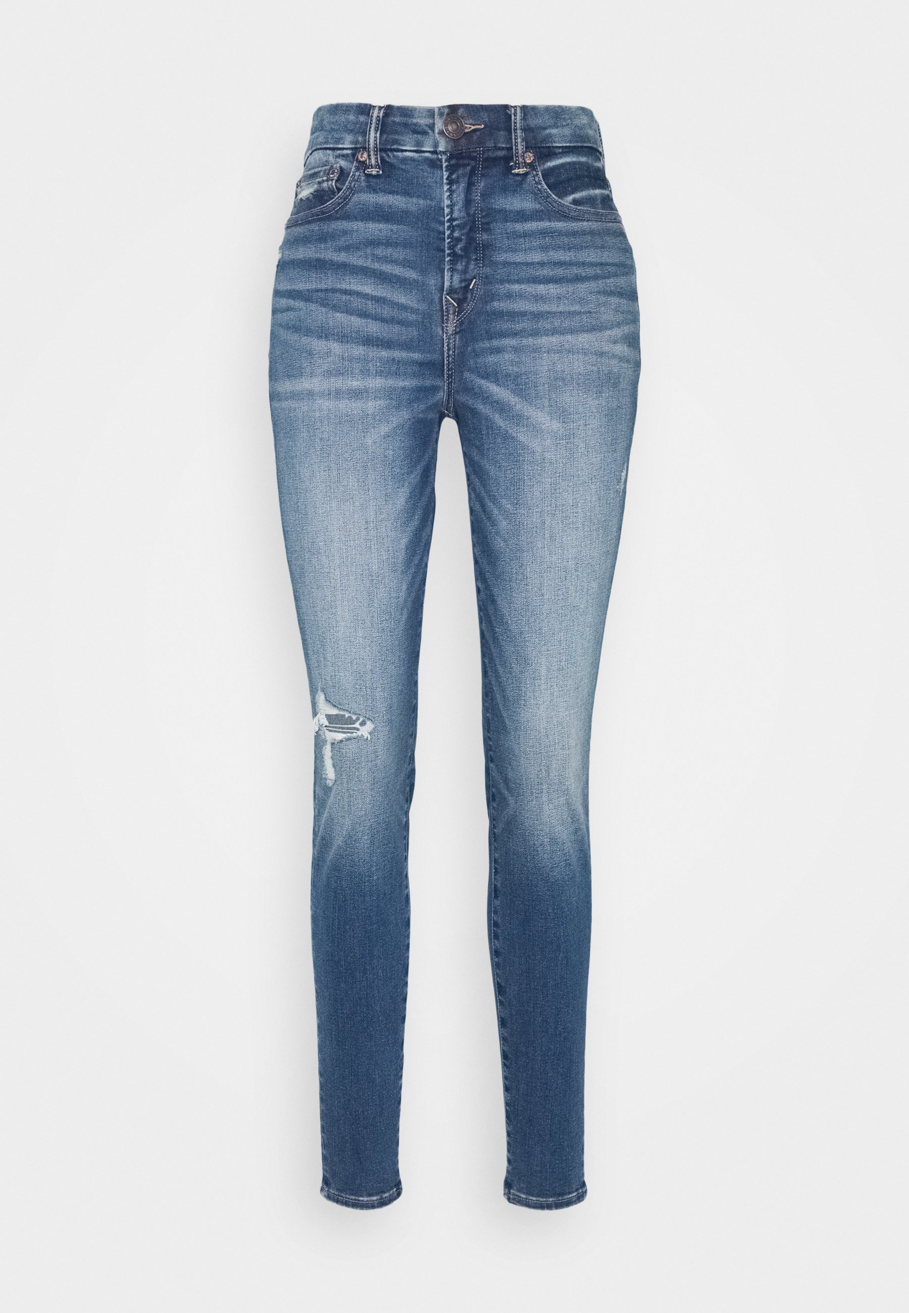 American Eagle CURVY RISE - Jeans Skinny Fit - midnight dreamer