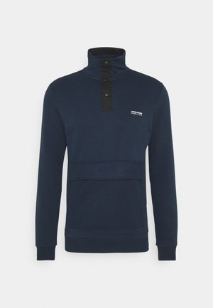 JCOHUSH HIGH NECK - Sweatshirt - navy blazer