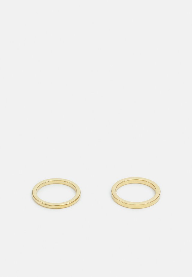 ISOTOPE 2 PACK UNISEX - Prsten - gold-coloured