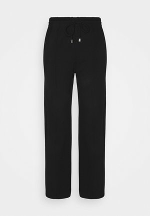 EMMA TROUSERS - Tracksuit bottoms - black