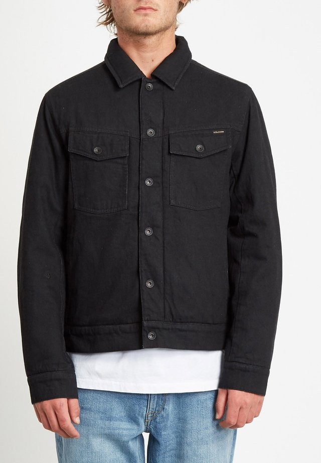 LYNSTONE JACKET - Veste en jean - black