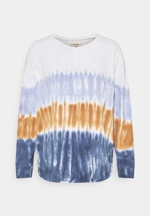 DELANCEY TEE IN DIP DYE - Long sleeved top - lighthouse