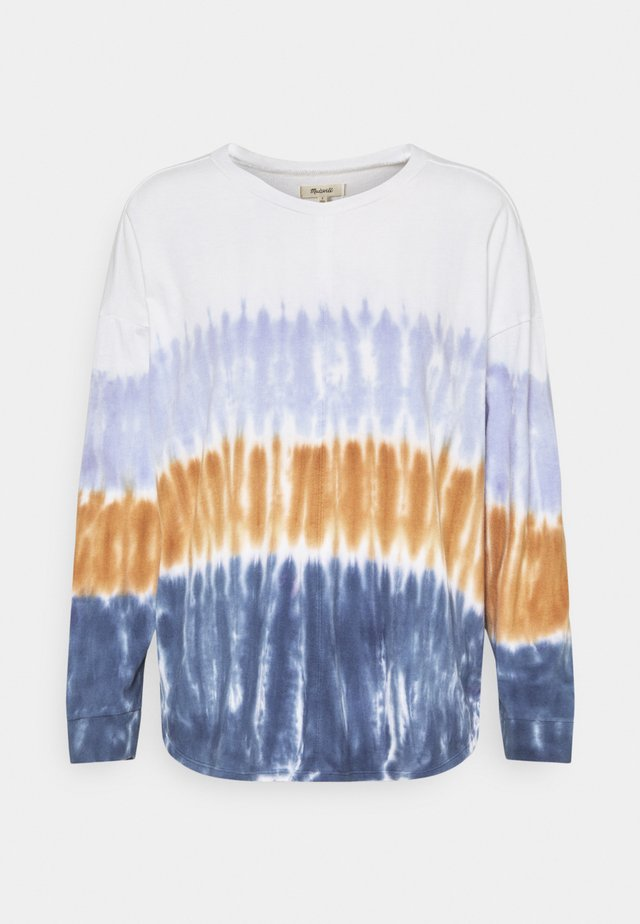 DELANCEY TEE IN DIP DYE - Longsleeve - lighthouse
