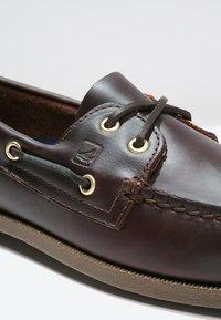 Sperry - Buty żeglarskie - amaretto - 5