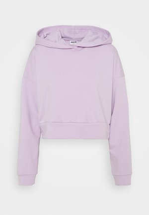 NMLUPA CROP HOOD - Sweatshirt - orchid bloom