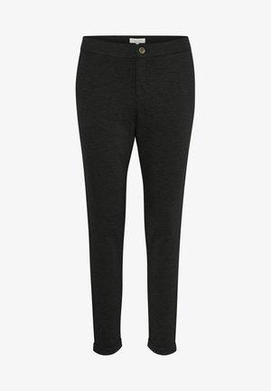 MIGHTY - Pantaloni - dark grey melange