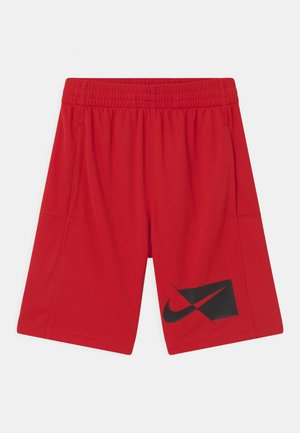 Pantalón corto de deporte - university red/black
