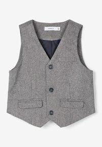 Name it - Gilet elegante - grey melange - 2