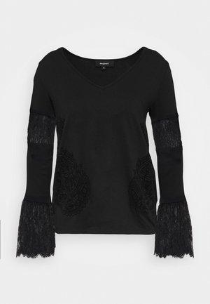 AMELIA - Bluzka z długim rękawem - black