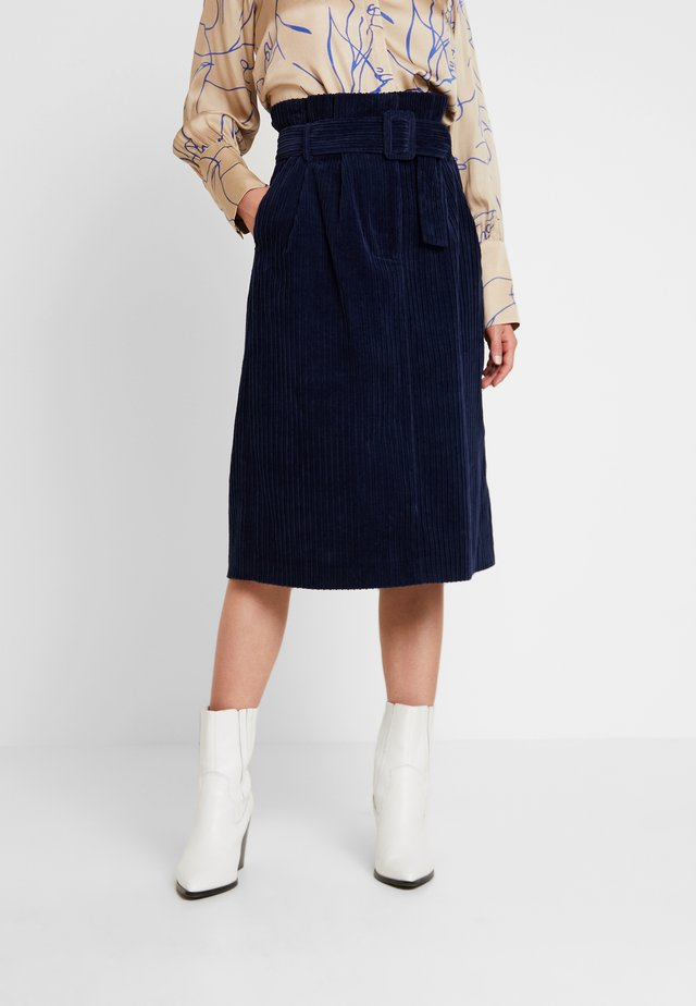 NEW PENELOPE SKIRT - Gonna a tubino - navy