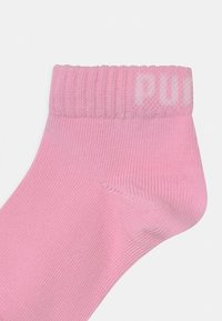 Puma - QUARTER 6 PACK UNISEX - Socks - rose water/white - 2