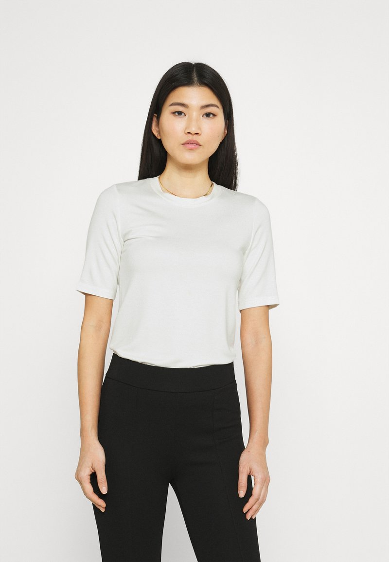 Stylein - CHAMBERS - Jednoduché triko - white