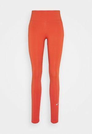 ONE - Legginsy - mantra orange/white